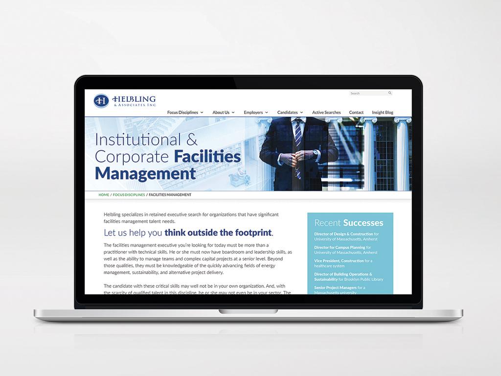 Helbling website screen