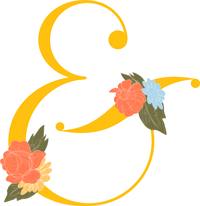 decorative ampersand graphic