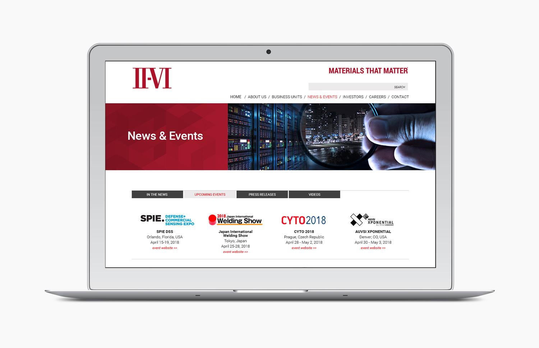 laptop website portfolio feature