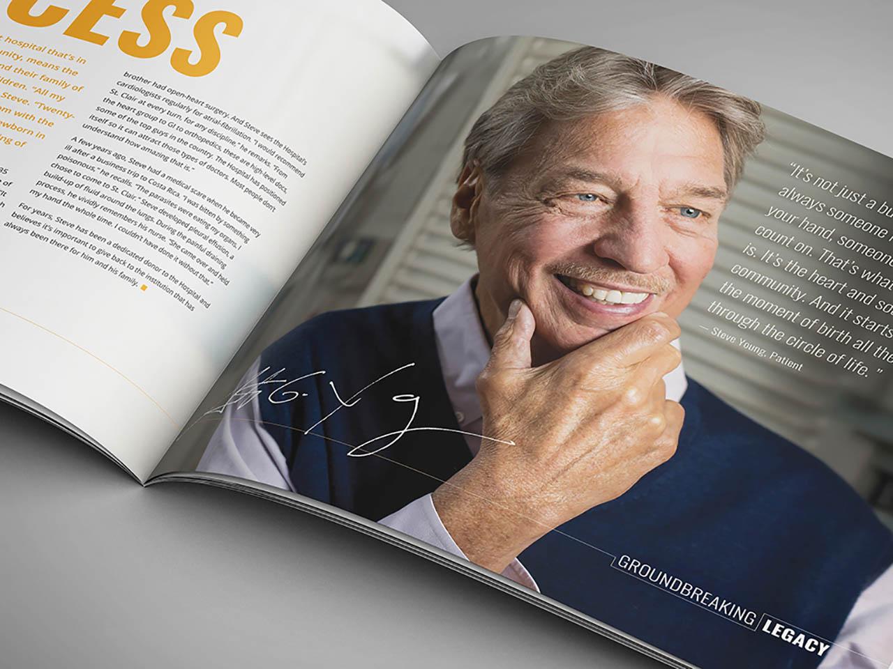 booklet portfolio feature