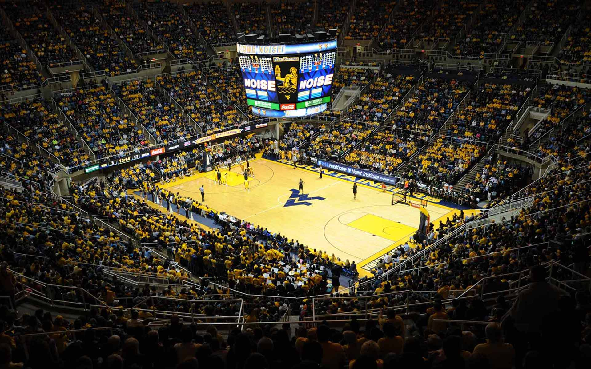 WVU basketball arena