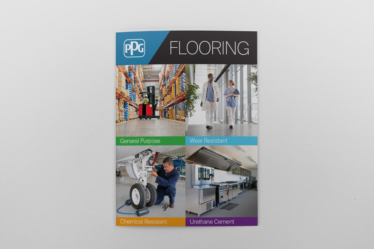 PPG Flooring Brochure cover